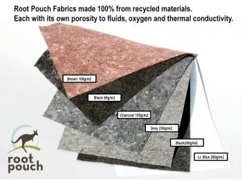 Root Pouch: verschiedene Materialstärken