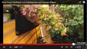 Balkonbegrünung mit Rootpouches: Praktische Beispiele